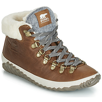 Shoes Women Mid boots Sorel OUT N ABOUT PLUS CONQUEST Brown