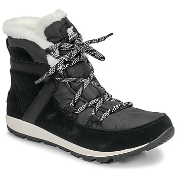 Shoes Women Mid boots Sorel WHITNEY FLURRY Black