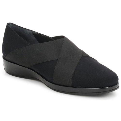 Shoes Women Loafers Amalfi by Rangoni PRETTY Black