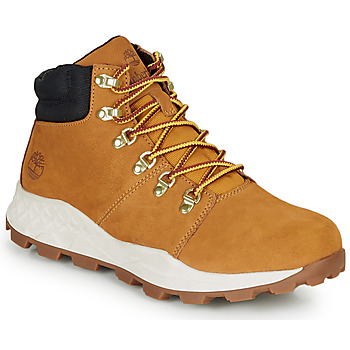 Shoes Men High top trainers Timberland BROOKLYN HIKER Wheat / Brown
