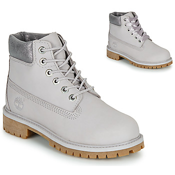 Shoes Children Mid boots Timberland 6 IN PREMIUM WP BOOT Grey
