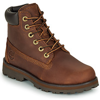 Shoes Children Mid boots Timberland COURMA KID TRADITIONAL6IN Brown