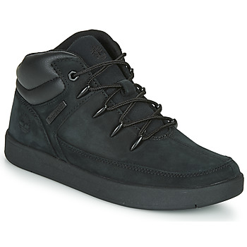 Shoes Children High top trainers Timberland DAVIS SQUARE TDEUROSPRINT Black