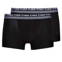 Underwear Men Boxer shorts DIM 3D FLEX STAY & FIT X 2 Black