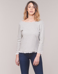 material Women Long sleeved shirts Betty London KARA White / Marine