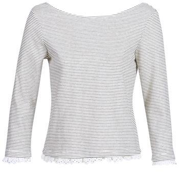 material Women Long sleeved shirts Betty London KARA White / Marine