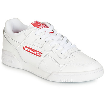 Shoes Low top trainers Reebok Classic WORKOUT PLUS MU White / Red