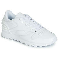 Shoes Women Low top trainers Reebok Classic CL LTHR White