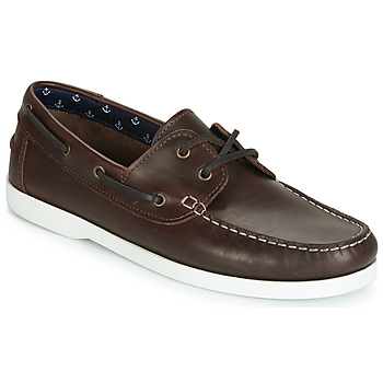Shoes Men Boat shoes André BENDOR Brown