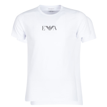 material Men short-sleeved t-shirts Emporio Armani CC715-111267-04712 White