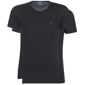 material Men short-sleeved t-shirts Emporio Armani CC722-111648-07320 Black