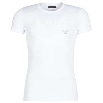 material Men short-sleeved t-shirts Emporio Armani CC716-111035-00010 White