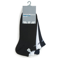 Accessorie Men Socks Emporio Armani CC134-300008-00997 White / Black / Marine
