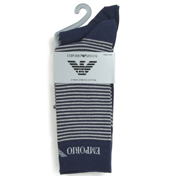 Accessorie Men Socks Emporio Armani CC114-302302-00035 Marine