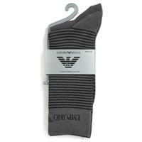Accessorie Men Socks Emporio Armani CC114-PACK DE 2 Grey