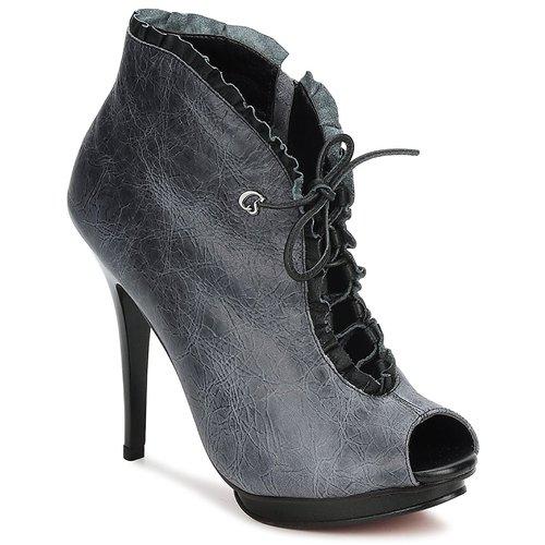 Shoes Women Low boots Carmen Steffens 6002043001 Black / Grey