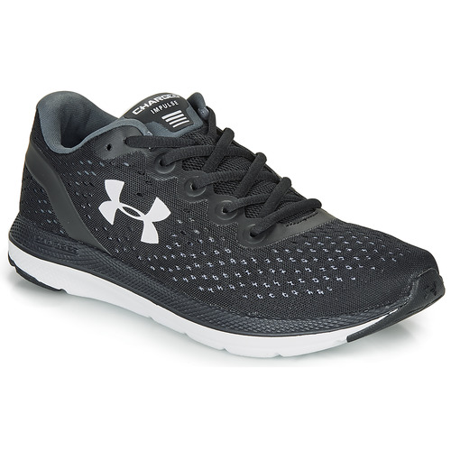 nieve Perenne Silenciosamente  Under Armour CHARGED IMPULSE Black / White - Fast delivery | Spartoo Europe  ! - Shoes Running-shoes Men 70,00 €