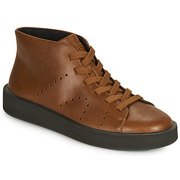 Shoes Men High top trainers Camper COURB Brown