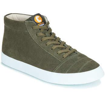 Shoes Men High top trainers Camper IMAR COPA Kaki
