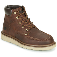 Shoes Men Mid boots Caterpillar BYRON Black