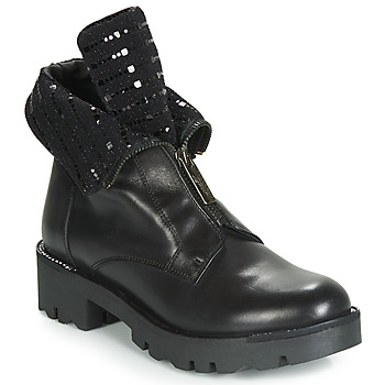 Shoes Women Mid boots Tosca Blu DIANE Black