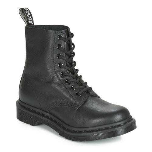 Shoes Women Mid boots Dr Martens 1460 PASCAL MONO Black