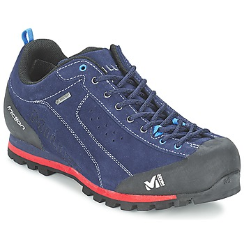Shoes Men Hiking shoes Millet FRICTION GTX Blue / Red