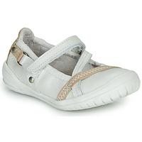 Shoes Girl Ballerinas Ramdam BEZIERS White