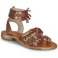 Shoes Girl Sandals Catimini CABRI Brown