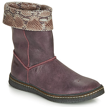 Shoes Girl Boots Ramdam CRACOVIE Bordeaux