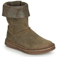 Shoes Girl Boots Ramdam CRACOVIE Kaki