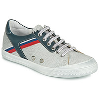 Shoes Boy Low top trainers Ramdam KAGOSHIMA White / Blue