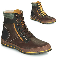 Shoes Boy Mid boots Achile MANUEL Brown