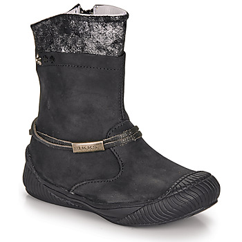 Shoes Girl Boots Ikks HILLARY Black