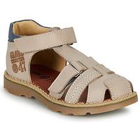 Shoes Boy Sandals GBB PINO Grey