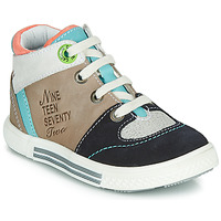 Shoes Boy High top trainers Catimini PIMENT Beige
