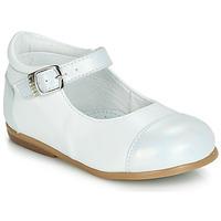 Shoes Girl Ballerinas GBB BELISTO White