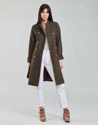 material Women coats Betty London LIPIUS Brown