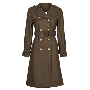 material Women coats Betty London LIPIUS Brown