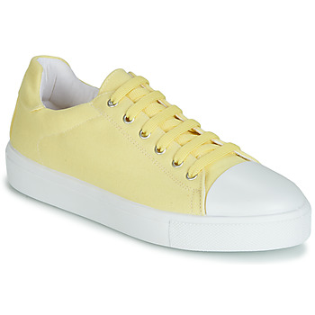 Shoes Women Low top trainers André SAMANA Yellow