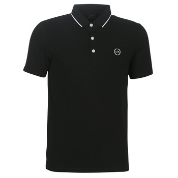 material Men short-sleeved polo shirts Armani Exchange 8NZF70-Z8M9Z-1202 Black