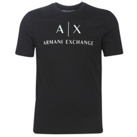 material Men short-sleeved t-shirts Armani Exchange 8NZTCJ-Z8H4Z-1200 Black