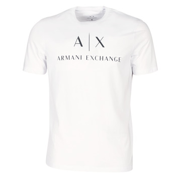 material Men short-sleeved t-shirts Armani Exchange 8NZTCJ-Z8H4Z-1100 White
