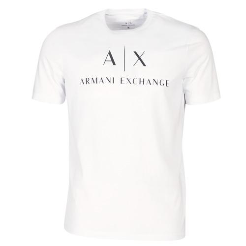 material Men short-sleeved t-shirts Armani Exchange 8NZTCJ-Z8H4Z-1100 White