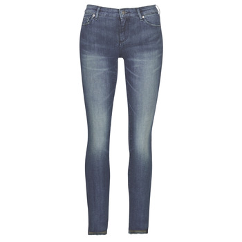 material Women slim jeans Armani Exchange 6GYJ25-Y2MKZ-1502 Blue