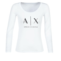 material Women Long sleeved shirts Armani Exchange 8NYTDG-YJ16Z-1000 White