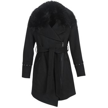 material Women coats Moony Mood PITEA Black