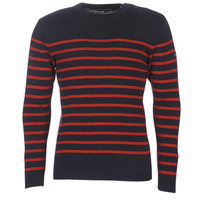 material Men jumpers Armor Lux LEOPOLD Marine / Red