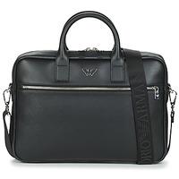 Bags Men Briefcases Emporio Armani Y4P119-YLA0E-81074 Black