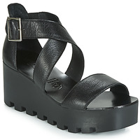 Shoes Women Sandals Sweet Lemon SUBWAY Black